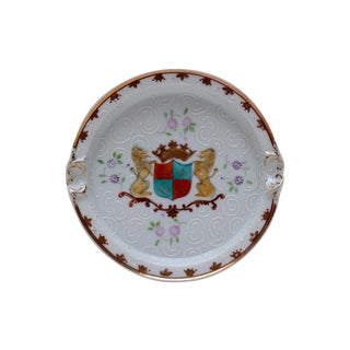 Porcelain Coat of Arms Ashtray