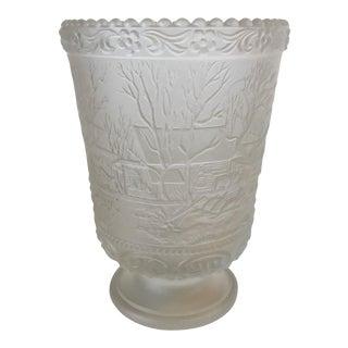 Signed Fenton Limited Ed. Christmas Vase
