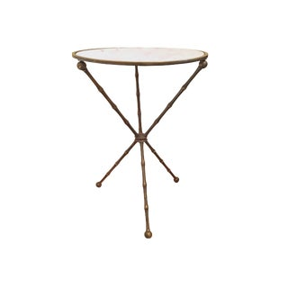 Maison Baguès Marble Tripod Table