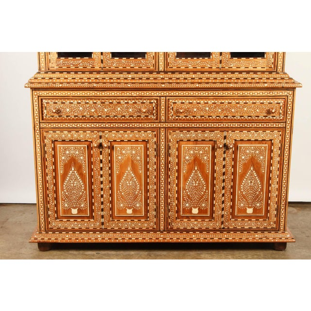 Richly Inlaid Indian Cabinet - Image 2 of 10