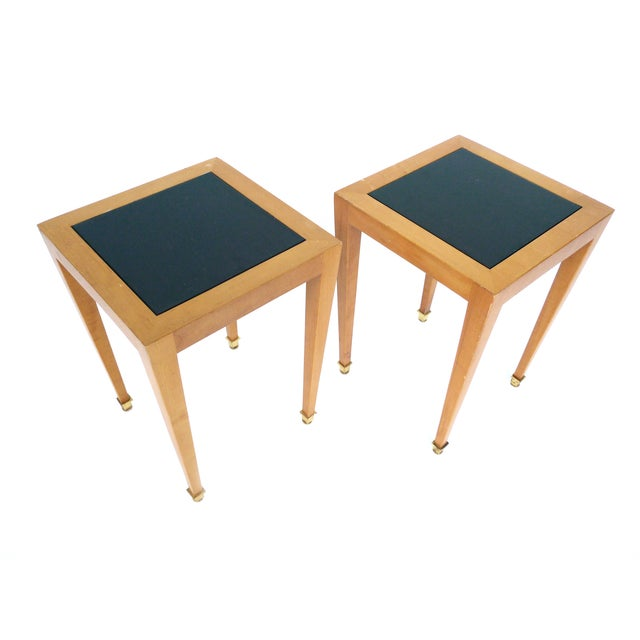 Donghia Madrid Square Side Tables - Image 1 of 10