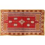 Image of Apadana - Red & Orange Moroccan Rug - 5′7″ × 8′