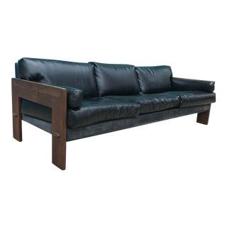 Adrian Pearsall Craft Originals 1147 Walnut Sofa