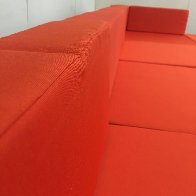 Orange Wicker Patio Set - Image 6 of 10