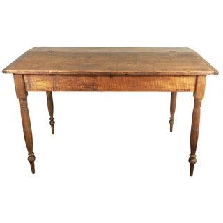 19th-C. Rustic Sheraton Wood Desk