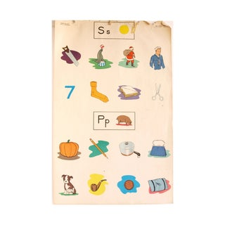 Vintage Flash Card Wall Art