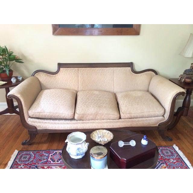 Duncan Phyfe Antique Sofa - Image 5 of 8