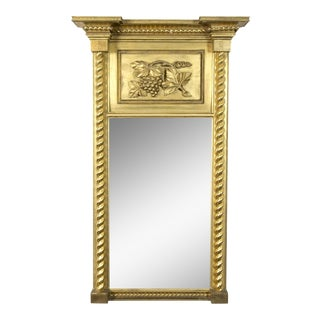 Carved Federal Gilt Mirror