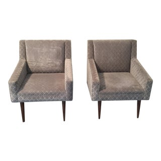 Avery Boardman Custom Living Room Club Chairs - A Pair