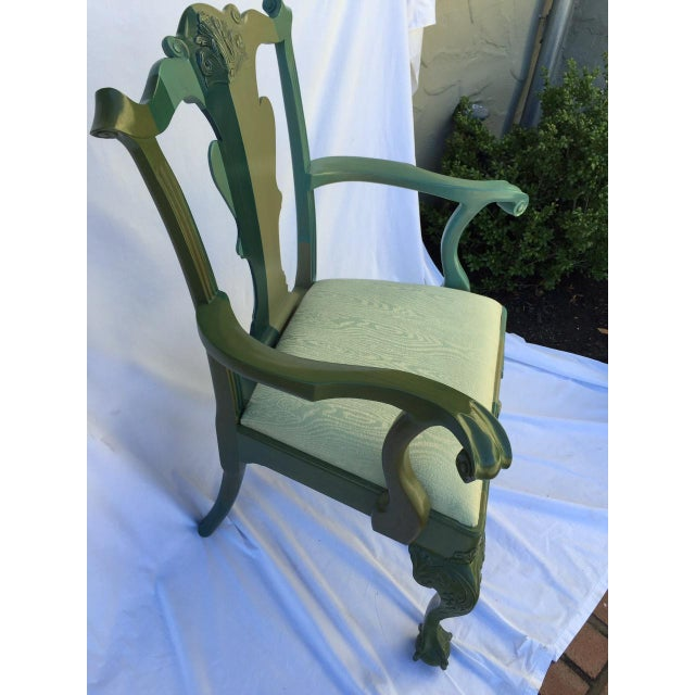 Chippendale Style Chair by Jamie Drake - Image 4 of 6