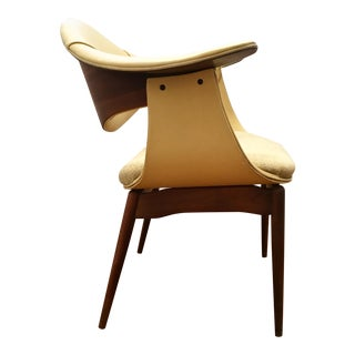 Plycraft Walnut Side Chair