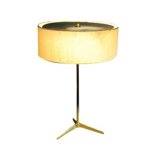 Paul McCobb Mid-Century Brass Lamp