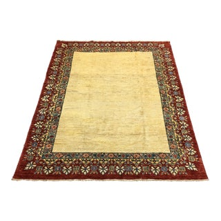 Hand Woven Kazak Wool Rug - 5′10″ × 8′