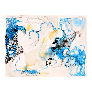 Blue Glacier Abstract by Robert Lohman