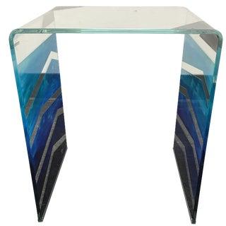 "Tony Sosa for Glassisimo ""Ocean Feel"" Side Table"