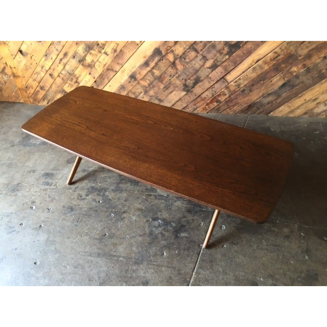 Mid-Century Danish Coffee Table by Ole Wanscher - Image 6 of 10