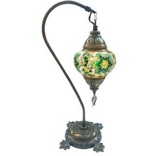 Star of David Mosaic Pendant Table Lamp