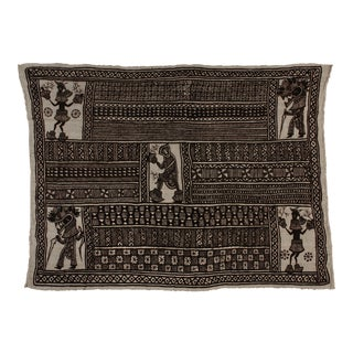 African Mali Mud Cloth Textile