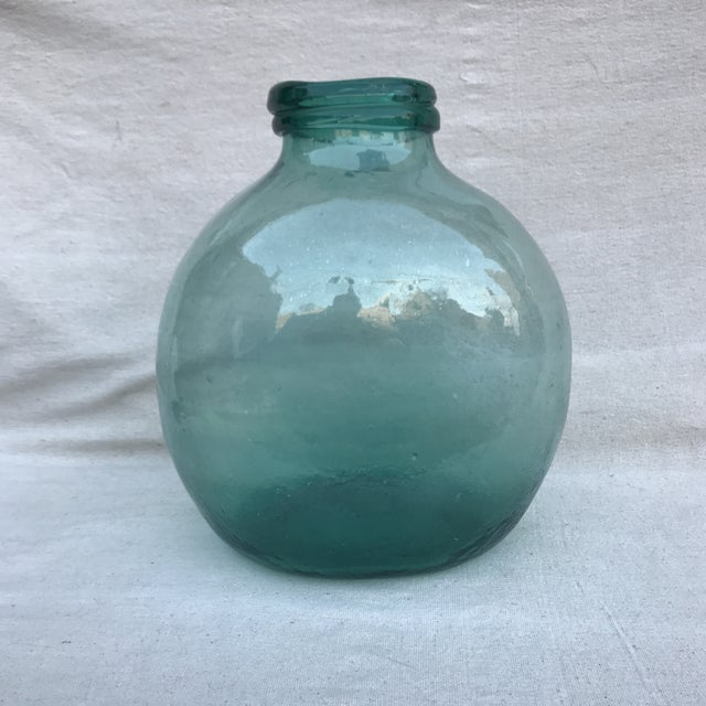 Spanish Hand Blown Glass Pharmacy Jar - Image 2 of 4