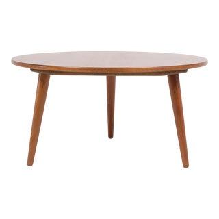 Hans Wegner Three-Legged Teak Coffee Table for Andreas Tuck