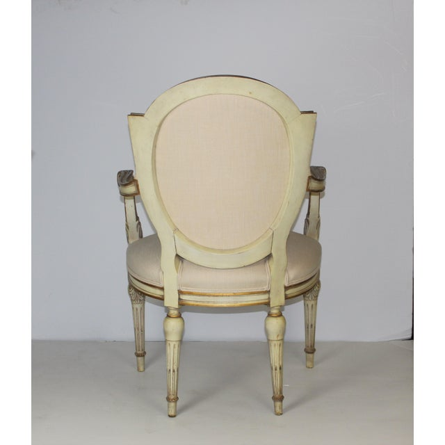 Karges Neoclassical Style Dining Chairs - Set of 6 - Image 6 of 6