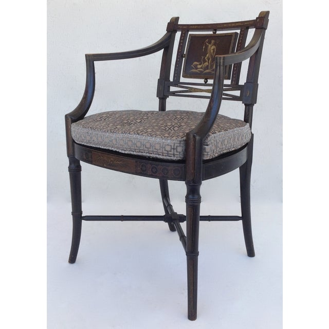 Maison Jansen Hand-Painted Regency Chair - Image 2 of 11