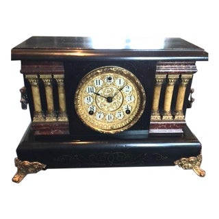 Ornate Sessions Chiming Mantle Clock