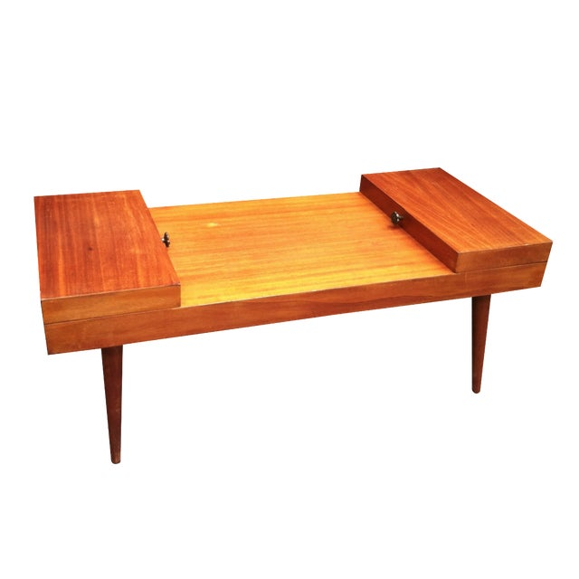 Vintage Rock-Ola Coffee Table / Game Table - Image 1 of 11