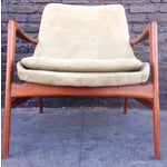 Image of Danish Suede Lounge Chair