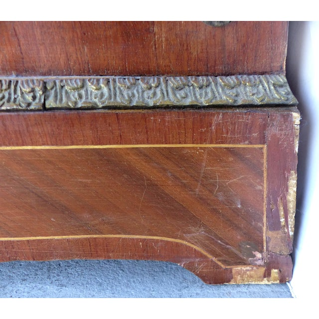 Antique French Style Marquetry Secretary - Image 11 of 11