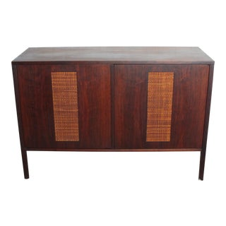 Furnette Industries Walnut Credenza Cabinet