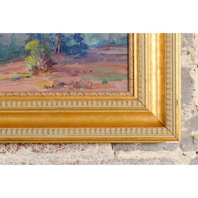 Martella Cone Lane -California Landscape -Oil Painting -Impressionist C.1920s - Image 10 of 10