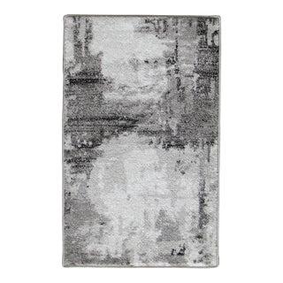 """Abstract Art Gray Rug - 5'3"""" x 7'7"""""""