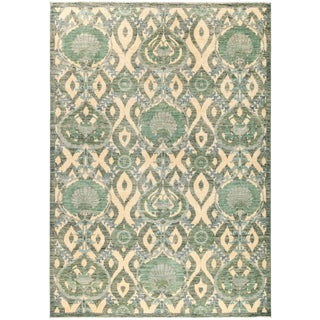 """Suzani Hand Knotted Area Rug - 6'5"""" X 9'1"""""""