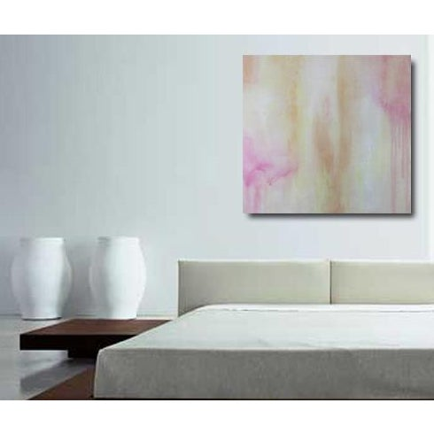 """""""POSEY,"""" Abstract Painting - Image 2 of 2"""