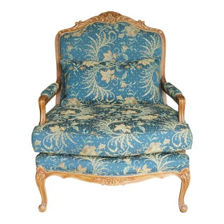 Comfortable Giant Hand Carved Club Chair
