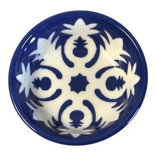 Handmade Ceramic Pineapple Motif Bowl
