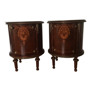 19th Century French Side Tables With Ormolu - A Pair