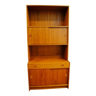 Danish Modern Teak Bookcase / Cabinet