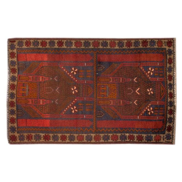 Apadana - Vintage Baluch Rug - 3' X 4' - Image 1 of 2