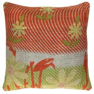 """Vintage Kantha Pillow 16"""""""