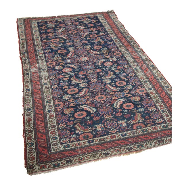 """Antique Malayer Rug - 4'1"""" X 6'6"""" - Image 1 of 9"""