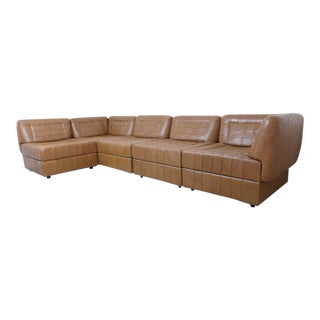 Percival Lafer Patchwork Leather Sectional Sofa