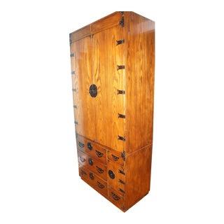 Baker Japanese Tansu Cabinet & Dry Bar