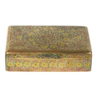 Indian Brass Box