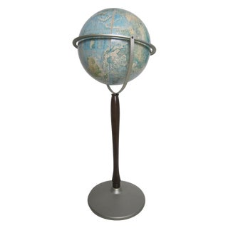 Vintage Rand McNally Floor Globe