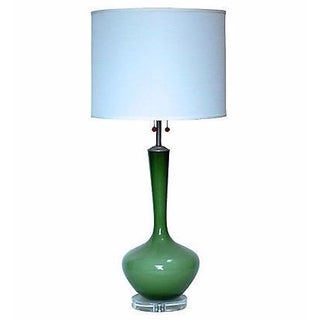1960s Marbro Glass Table Lamp