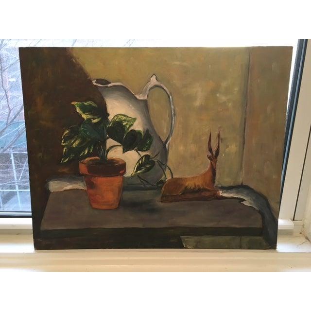 Vintage Still Life Painting - Image 2 of 6