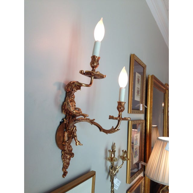 Image of French XV Figural Sconces - a Pair