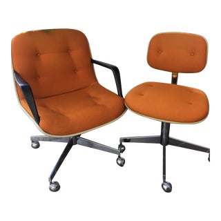 Vintage Steelcase Office Chairs - A Pair